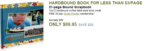 What a Deal! Amazing 12X12 Hardbound Book