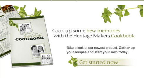 Make your own Family Recipe book to share with the whole family